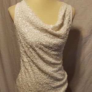 INC International Concepts Tops - 4 Holiday Sequin Tank Tops Size Medium INC one NWT